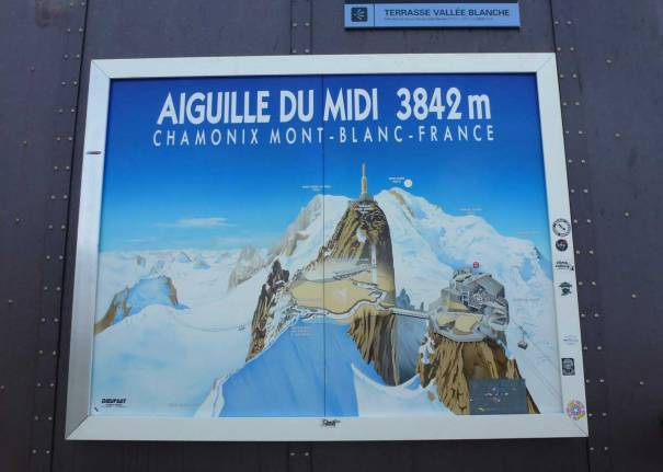 The Mountain Behind Chamonix