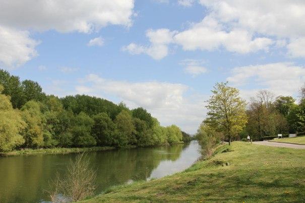 Heading East along the Eure