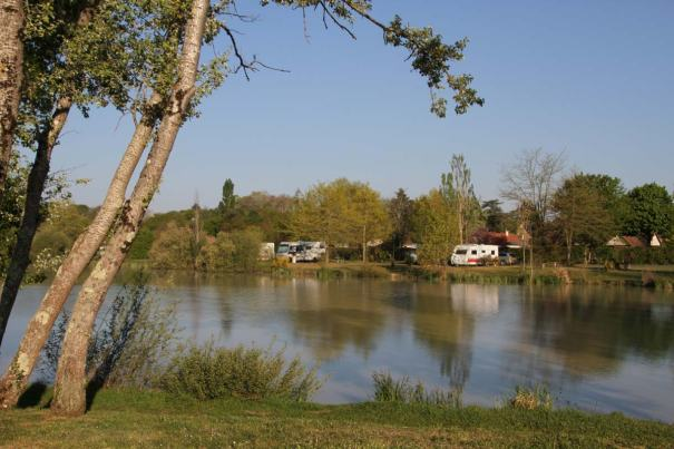 The Lake at Camping de Sologne