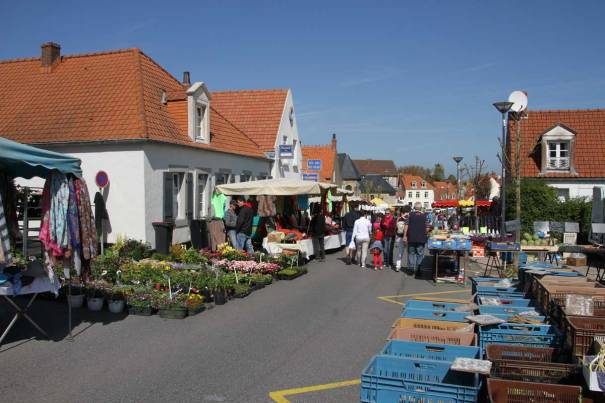 Market at Wissant