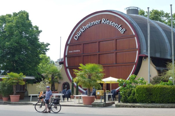 The Worlds Largest wine Barrel