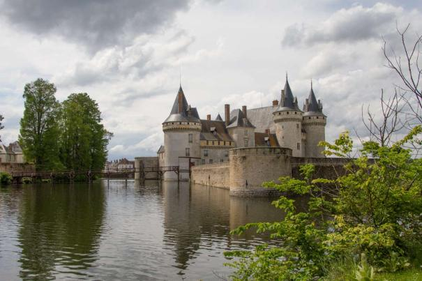 Chateau at Sully-sur-Loire