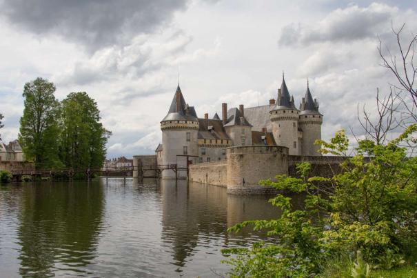 Chateau at Sully-sur-Loire