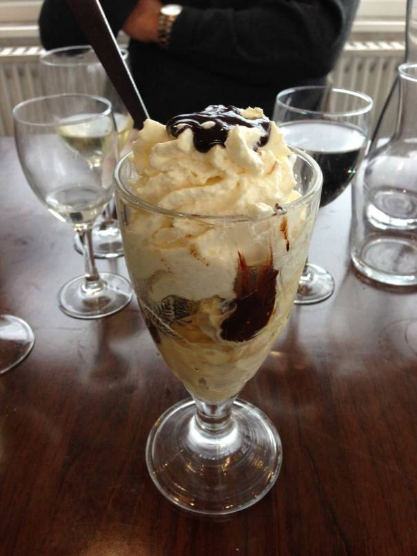 Pudding...Dame Blanche