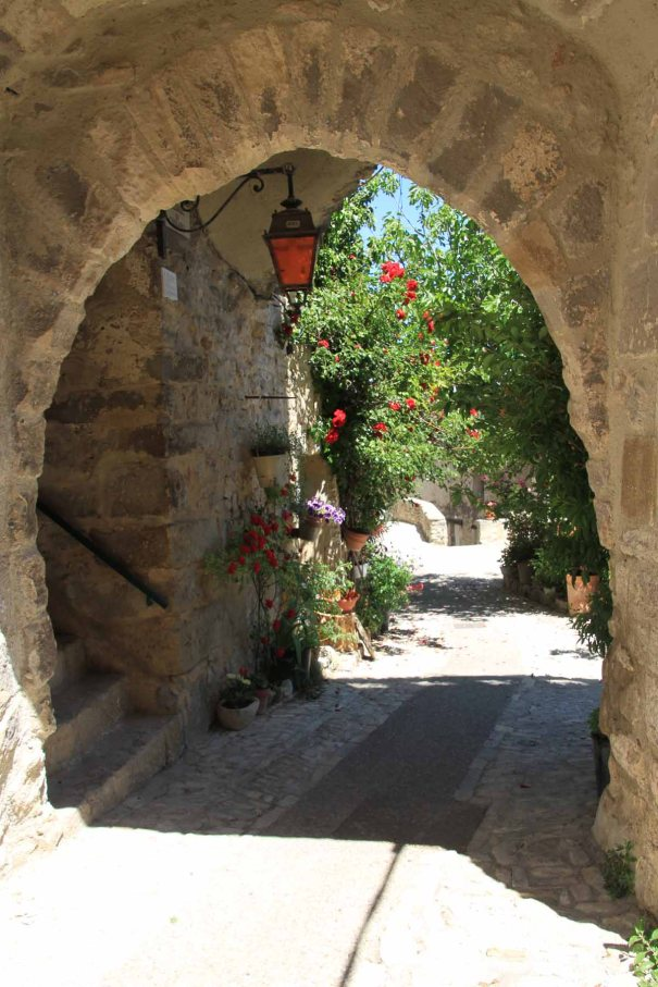 14th century arch at Dauphin