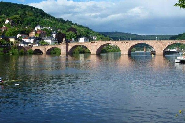 The Old Bridge over the Neckar.