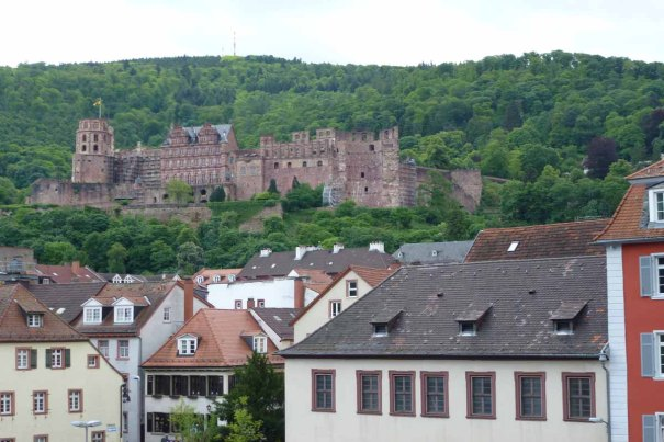 The Castle from the City