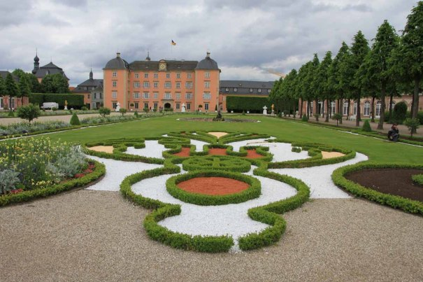 Schwetzingen Schloss (castle) and grounds.