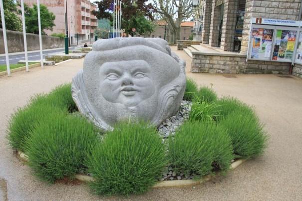 Sculpture at Hotel de Ville