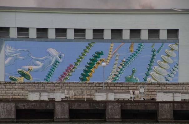 Power Station Mural