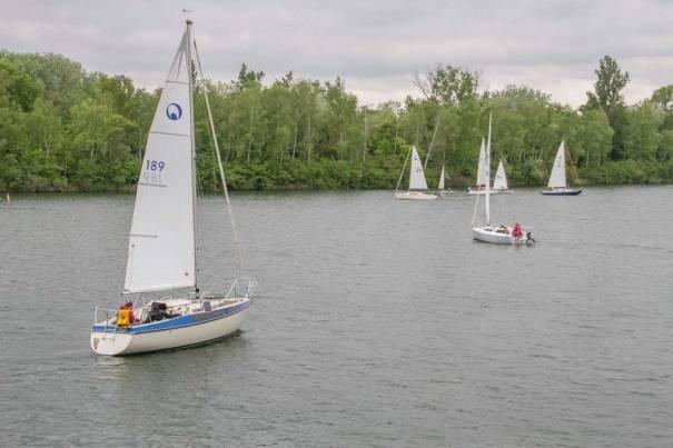 Sailing on the Rhine