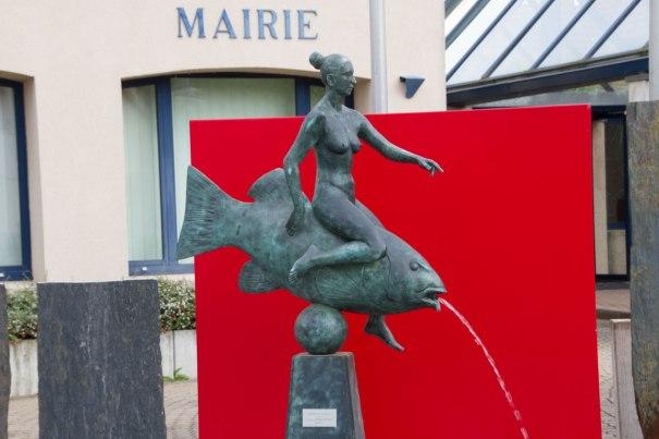 Sculpture in Volgelsheim