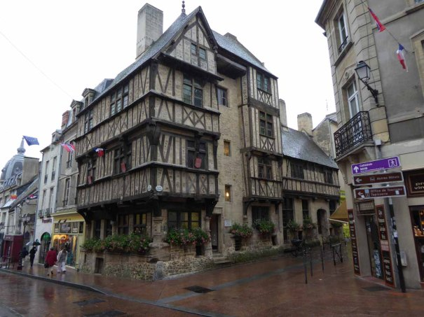 Half timbered house in Bayeux.