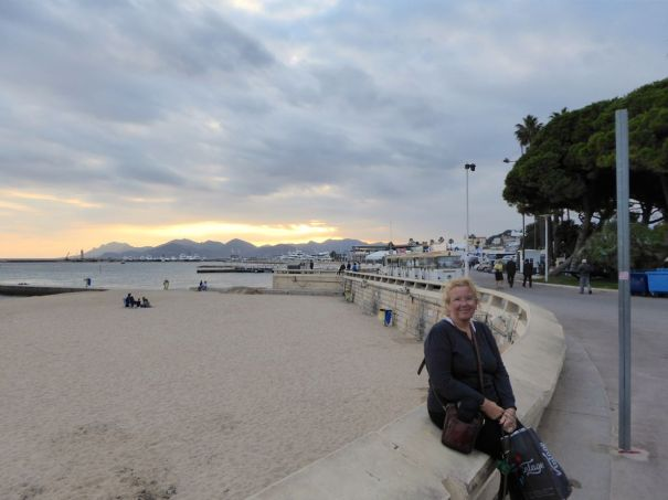 Beach at Cannes