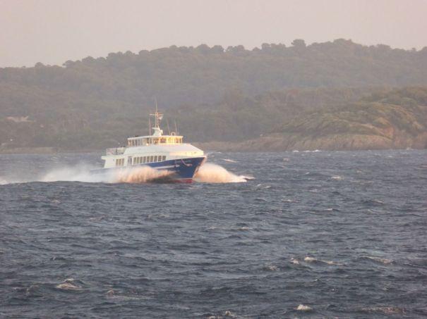 Ferry to Porquerroles