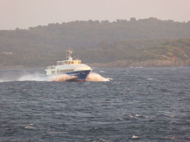 Ferry to Porquerroles