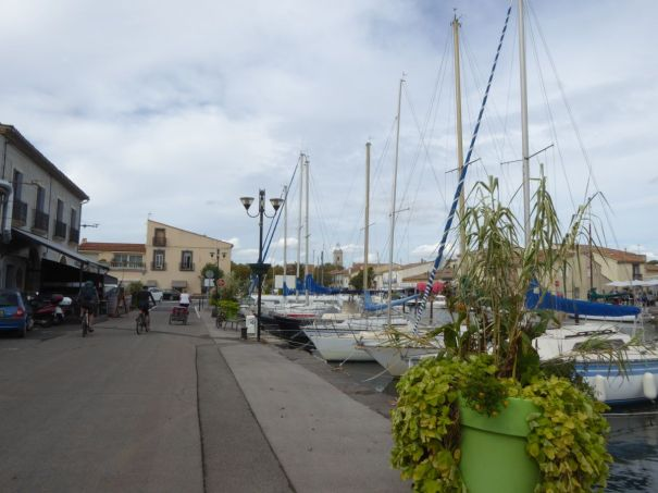 Quay at Marseillan Village