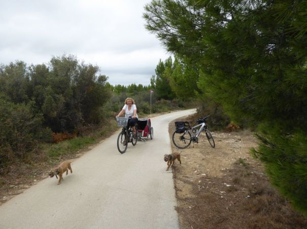 Cycle Track to Peyriac