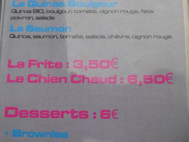 Chien Chaud!