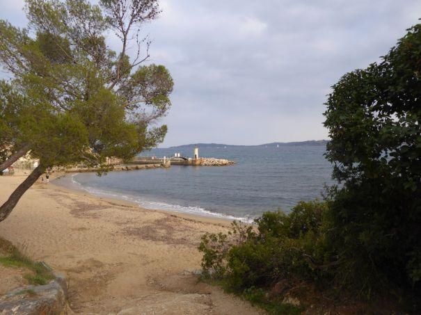 Beach en route to Saint Tropez
