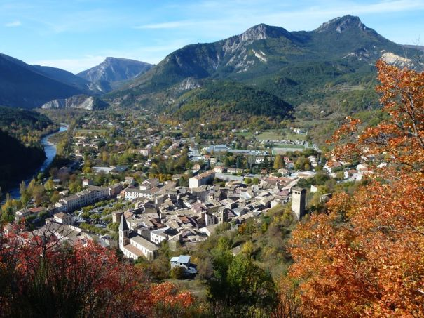 Looking Back at Castellane