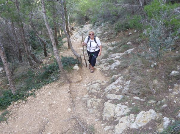 The Path to Cala Callela