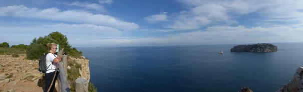 Viewpoint at Cap de La Barra