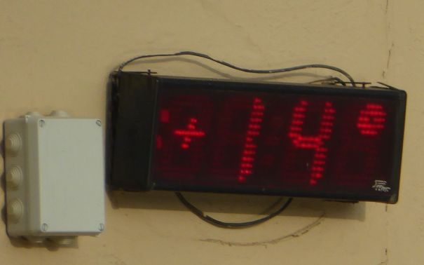 Pool Temperature