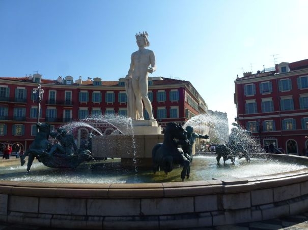 Apollo Looking Towards Place Massena