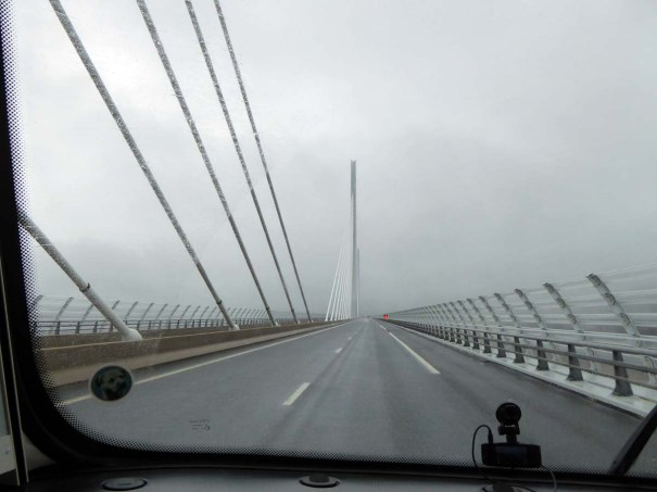 Millau Viaduct in the Fog