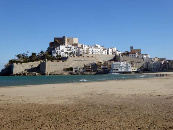 Castle guarding the harbour.