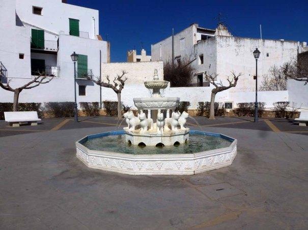 Fountain in Sant Jordi