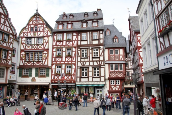 15. More pretty Bernkastel half timbered buildings.