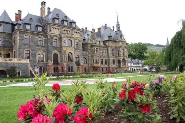 Schloss Lieser...built by Eduard Puricelli, special attache to Emperor Wilhelm II, in 1884.