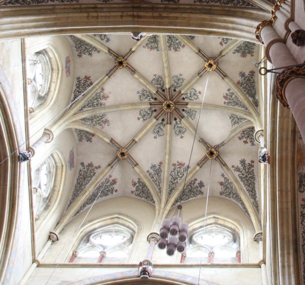 Vaulted Ceiling of Church of our Lady.