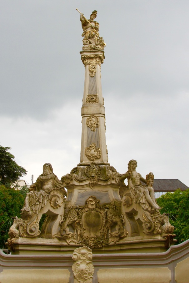 11. St Georges Fountain in Corn Market