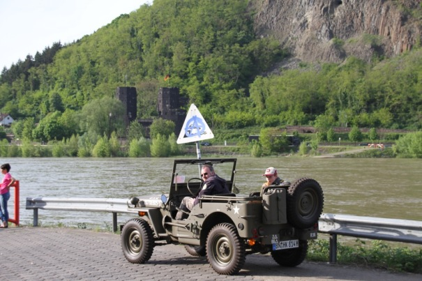 Jeep at Remagen