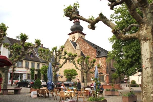 Rüdesheim square