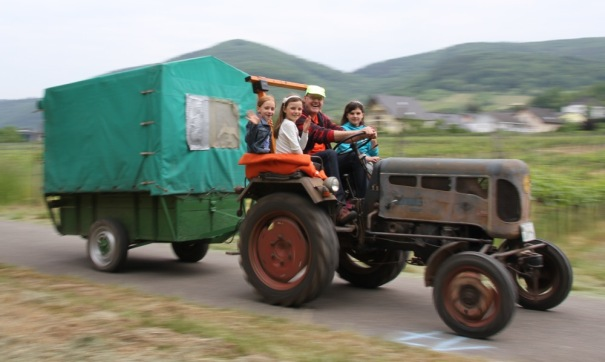 Tractor from Festival
