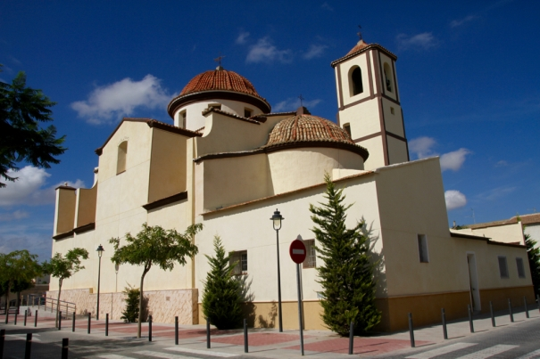 Church at San Felipe Neri