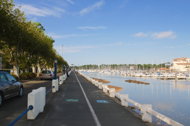 Cycle Path in Capbreton