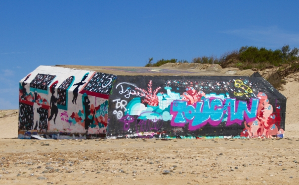Graffiti at Capbreton