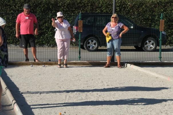 Petanque competition