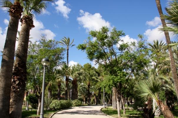 Elche Park.