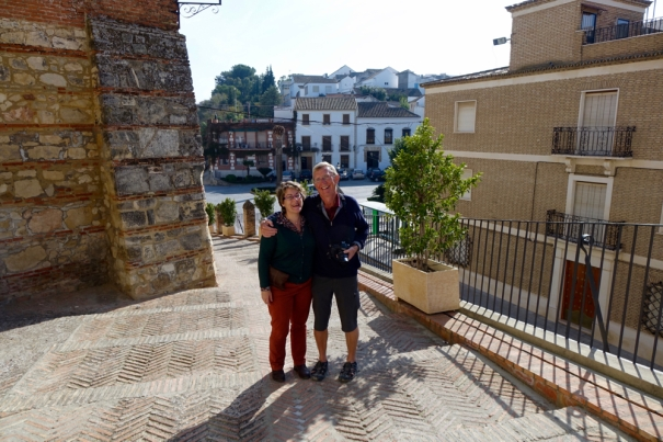 Mathilde and Peter in Santaella