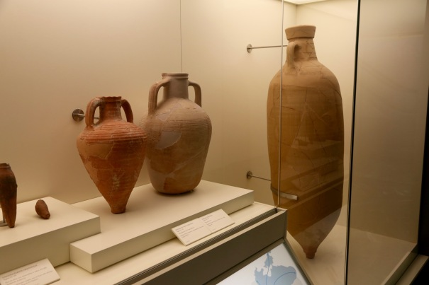 Roman and African Amphorae in the museum of the Roman theatre