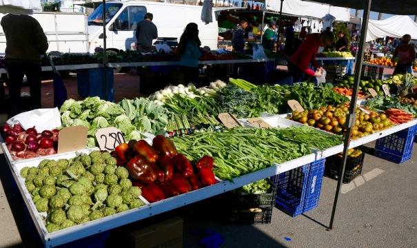 Market at Los Narejos