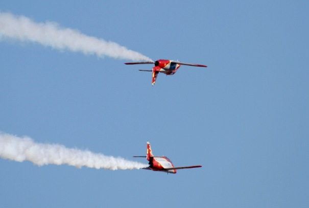 Inverted Flight over Campsite