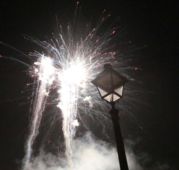 Evening Firework Display