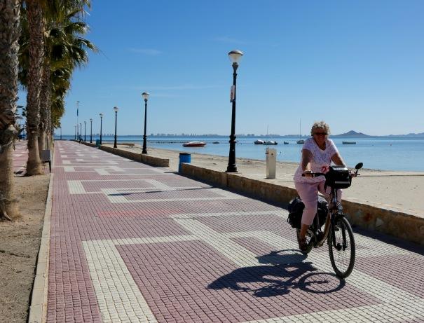 Promenade in Los Alcazares